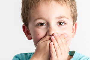 Child gasping - Pediatric Dentist in Pompton Lakes, NJ