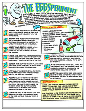EggSperiment activity sheet - Pediatric Dentist in Pompton Lakes, NJ